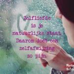 Zelfliefde is je natuurlijke staat