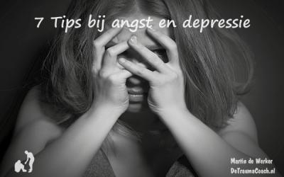7 Tips voor vermindering van angst en depressie