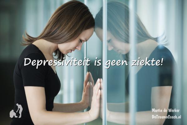 Depressiviteit is geen (erfelijke) ziekte.