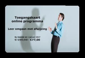 Online programma Leer omgaan met afwijzing